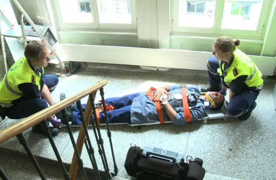 Rettungssanitäter/in HF – Film mit Porträt einer Berufstätigen