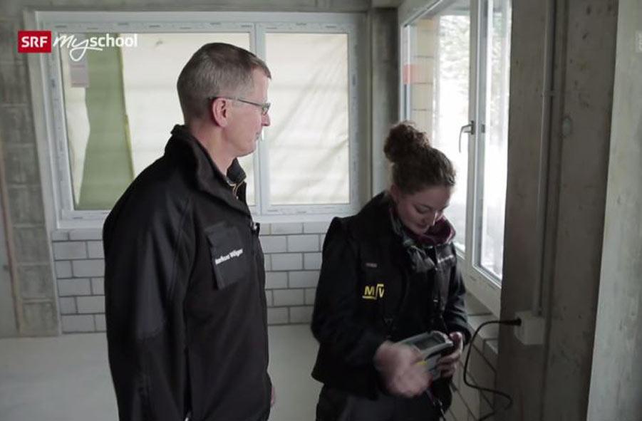 Elektroinstallateur/in EFZ – Film mit Porträt einer Lernenden