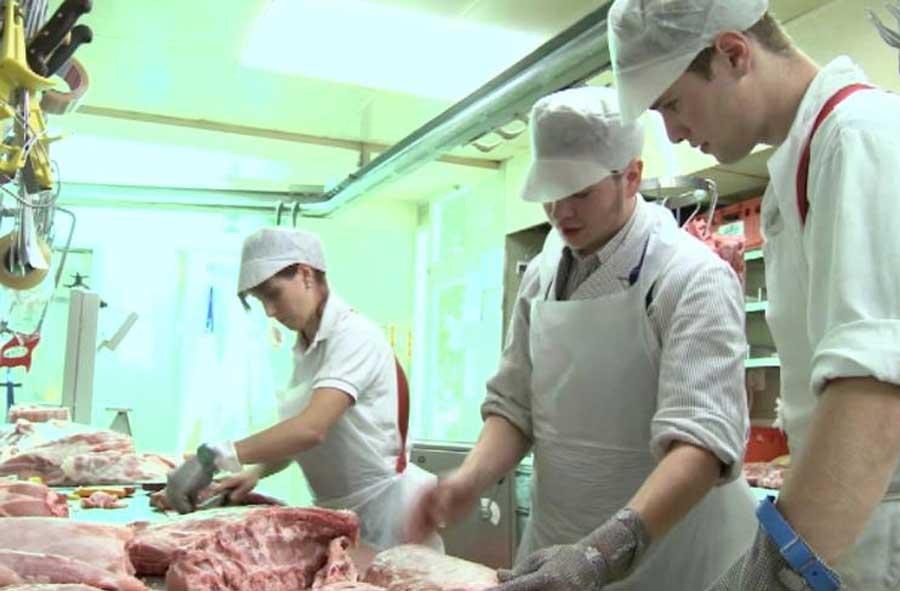 Fleischfachassistent/in EBA – Film mit Porträt eines Berufstätigen