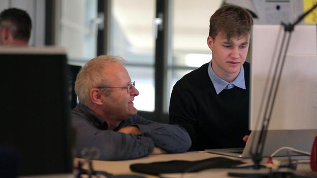 Informatiker/in EFZ – Film mit Porträt eines Lernenden