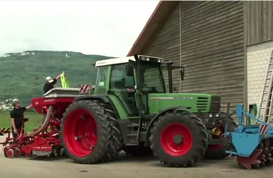 Landwirt / Landwirtin EFZ – Porträt eines Lernenden