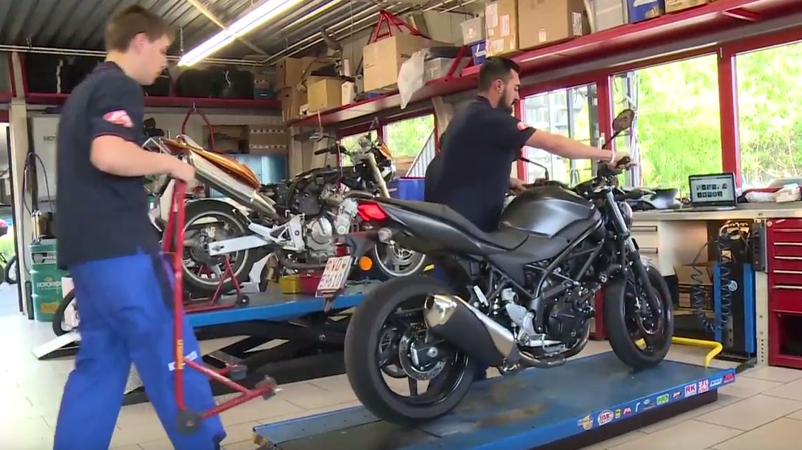 Mécanicien / Mécanicienne en motocycles CFC - Portraits