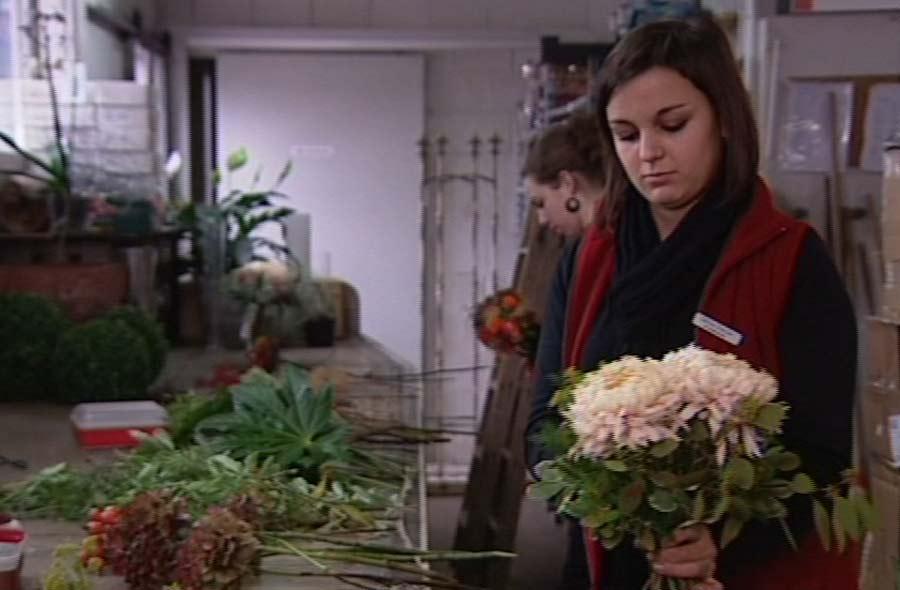 Florist/in EFZ – Film mit Porträt einer Lernenden