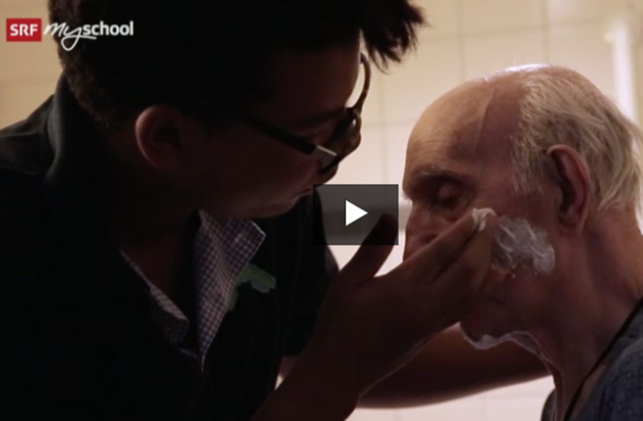 Fachmann/Fachfrau Gesundheit EFZ (FaGe) – Film mit Porträt eines Lernenden