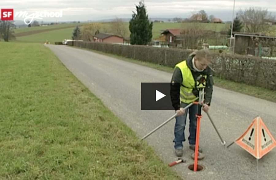 Geomatiker/in EFZ – Film mit Porträt eines Lernenden