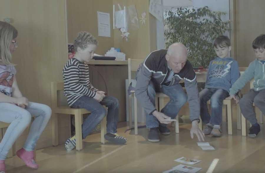 Lehrer/in für die Vorschulstufe - Film mit Porträt eines Kindergärtners